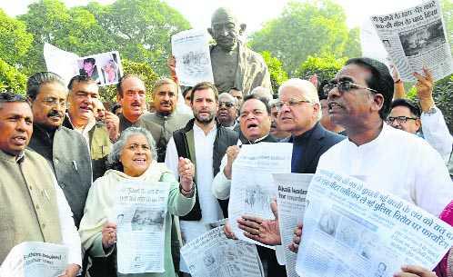 Punjab Dalit 'atrocities' echo in RS, Oppn flays Badal govt