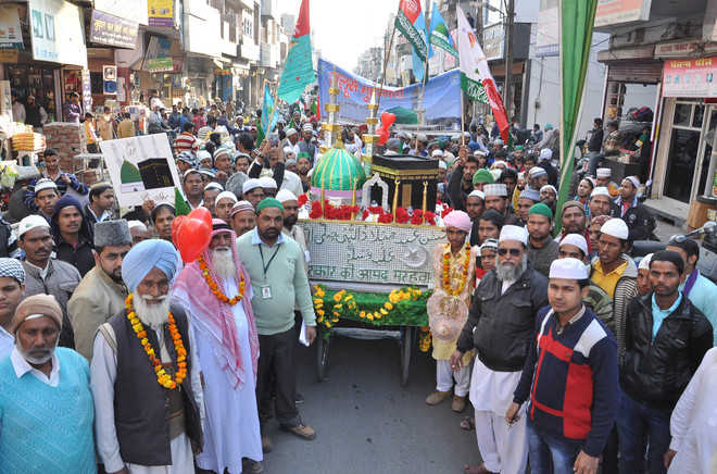 Milad-un-Nabi celebrated