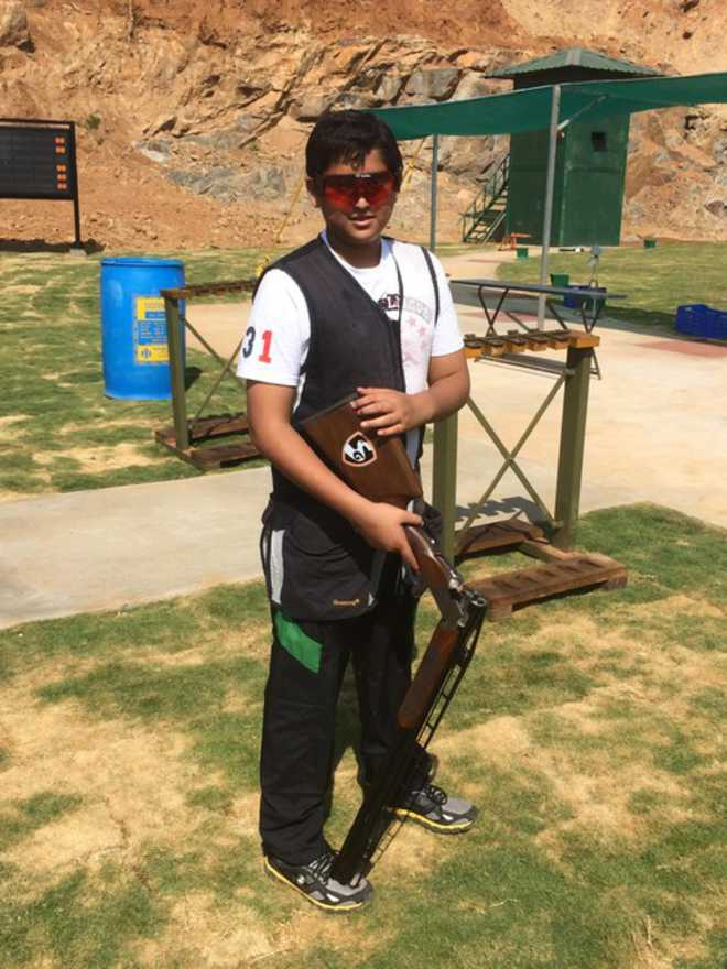 At 13, trap-shooter from state is youngest