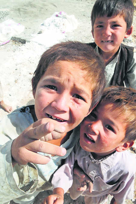 Children at the heart of armed conflict