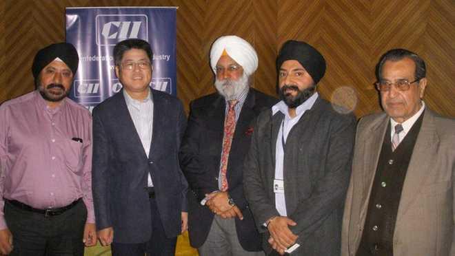 CII delegation meets Chinese ambassador