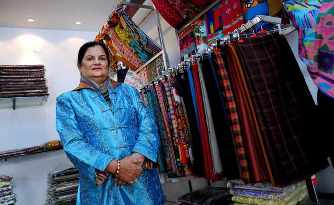 City woman who turned the shawl industry around