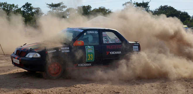 SJOBA rally gets off to colourful start