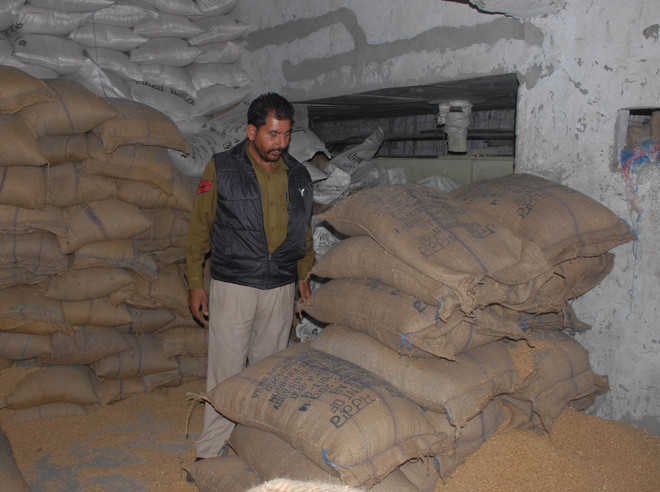 Wheat bags meant for BPL families reach private mill