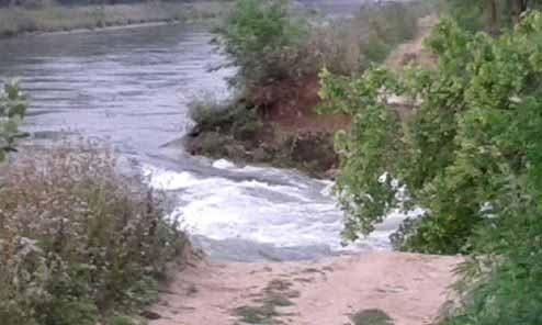 75-foot canal breach floods Y'nagar fields