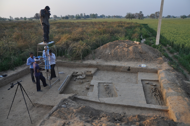 Rakhigarhi site being plundered due to lack of protection