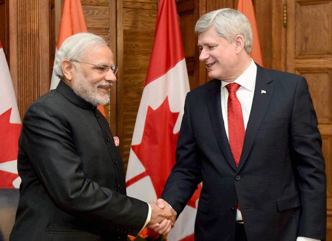 India to get uranium from Canada for five years