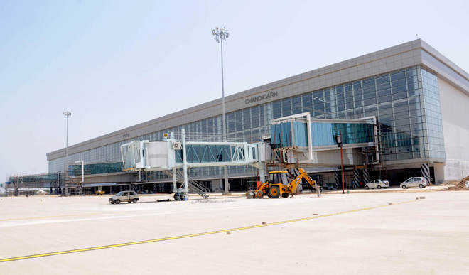 Inauguration of new terminal of Chandigarh airport by May-end