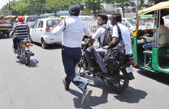 Image result for punjab traffic police