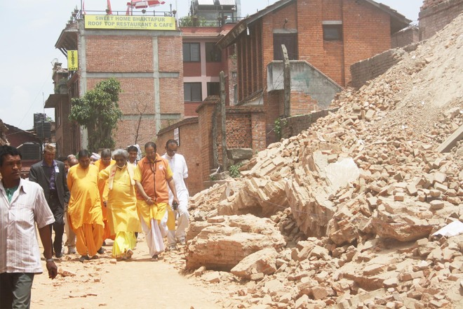 Global Gayatri Family actively involved in relief