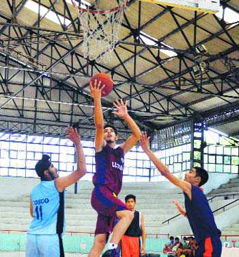 Local cagers defeat Muktsar in league tie