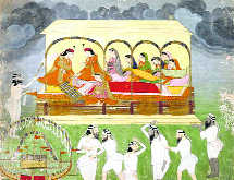 'Sati' choice before Maharaja Ranjit's Ranis