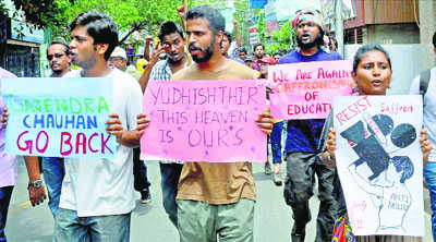 FTII fracas: Picking up the Saffron gauntlet