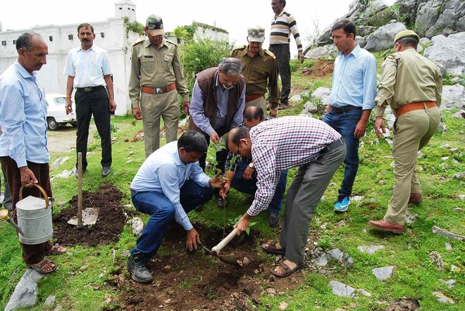Green cover to beautify George Everest House in Mussoorie