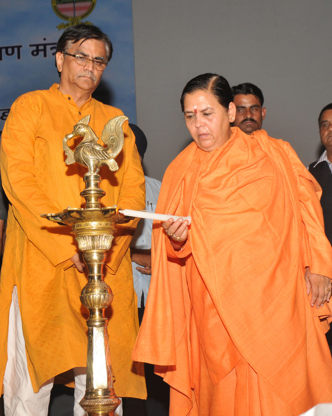 Even treated water should not be released into Ganga: Uma Bharti
