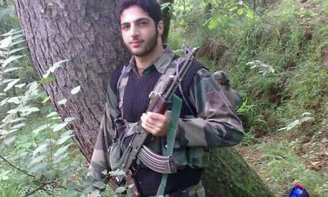 Kashmir militant releases video, vows to establish caliphate