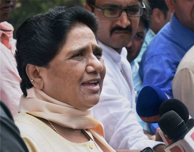 Modi govt being 'remote-controlled' by RSS: Mayawati