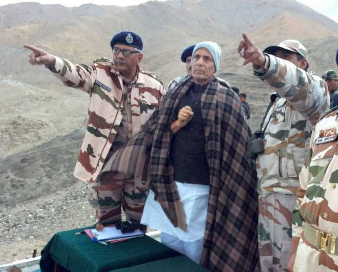 3 key roads in Ladakh to be constructed soon: Rajnath