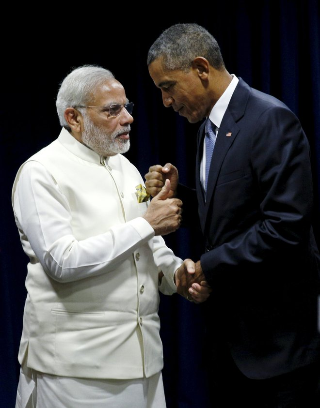 Modi, Obama push for strategic ties