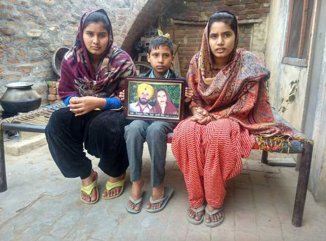 Highway knocks at poverty's door, family loses way