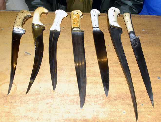 Theft of historic daggers: Police fail to make any breakthrough