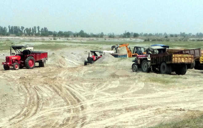 Sand mining: NGT notice to Centre, Haryana, UP
