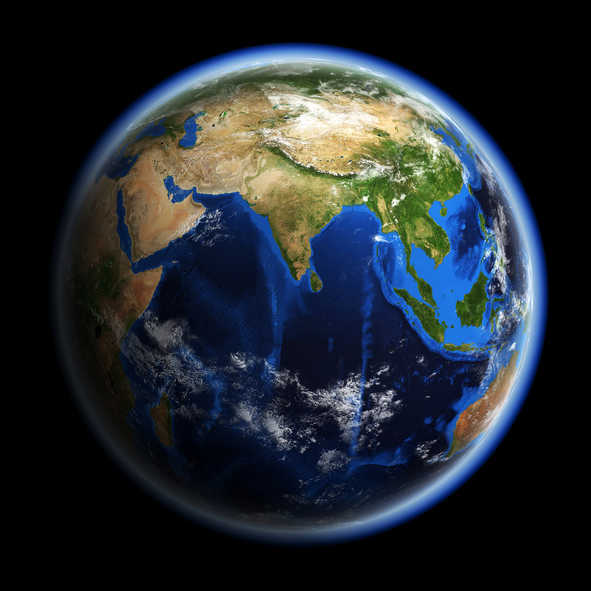 Image result for india in earth