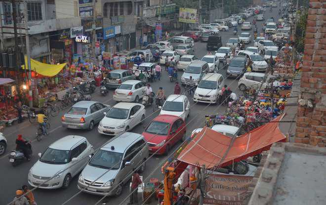 Over 24 lakh registered vehicles in city