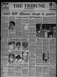 Punjab 1997 election results