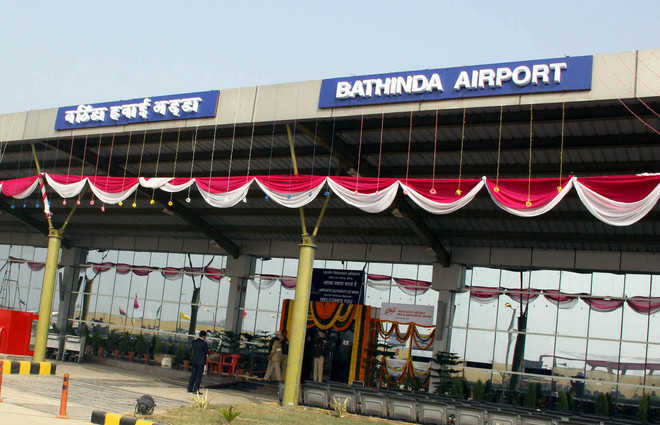 Airport 2 km away from bus stop in Virk Kalan, no direct link from city yet