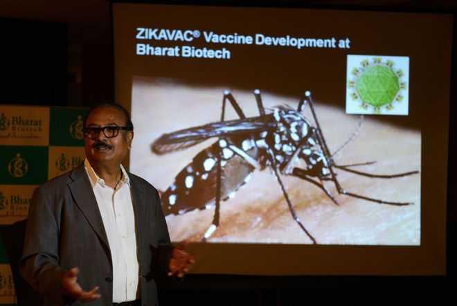 Indian firm develops 'world's first' Zika virus vaccine