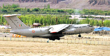 No plans to vacate Leh air base: IAF