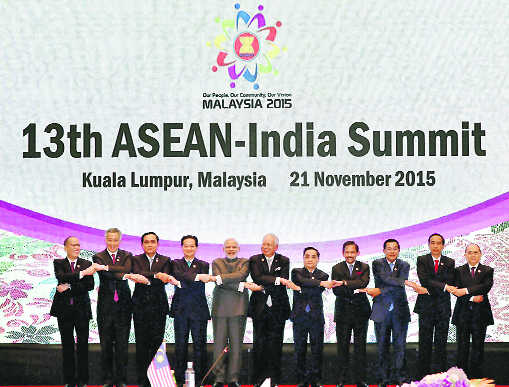 Asean the pivot of India's Act East policy