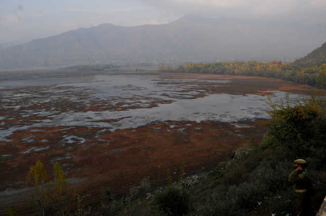 The shrinking Wular lake a matter of concern