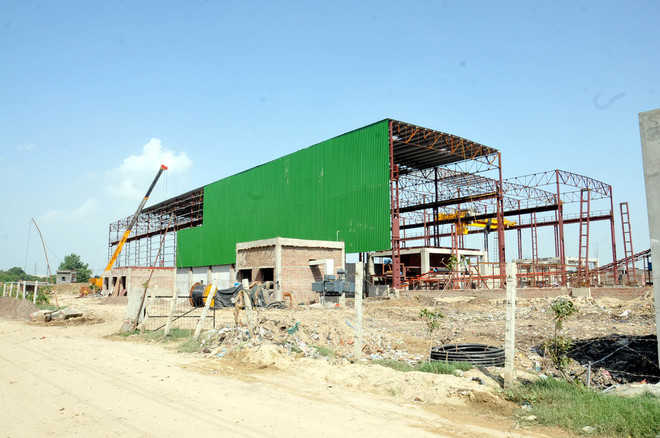 Waste mgmt plant awaits pollution clearance