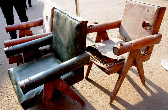 Architecture college asked to repair heritage furniture