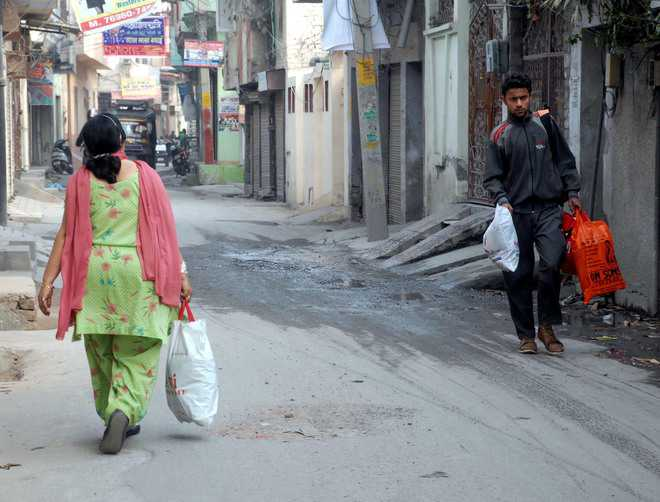 Complete ban on polybags from April 1