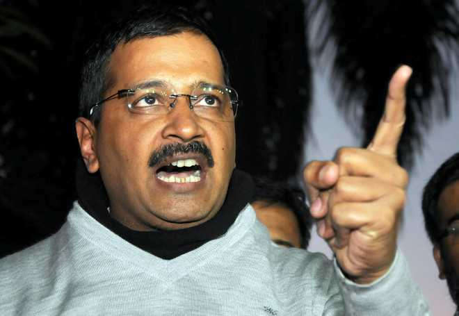 BJP is 'most anti-national of all', tweets Kejriwal