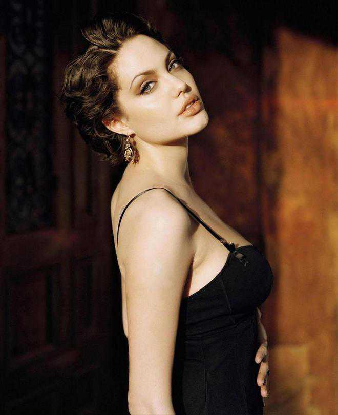 In conversation with Angelina Jolie...