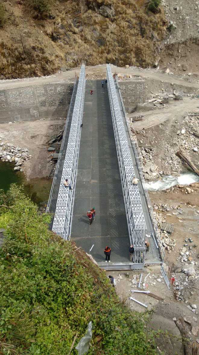 New Sonprayag bridge to smoothen Kedarnath yatra