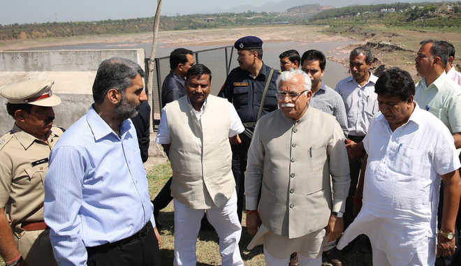 CM visits Kaushalya Dam