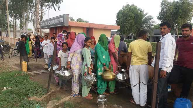 Rajasthan to Haryana, villagers take the cue: Only water queues will do