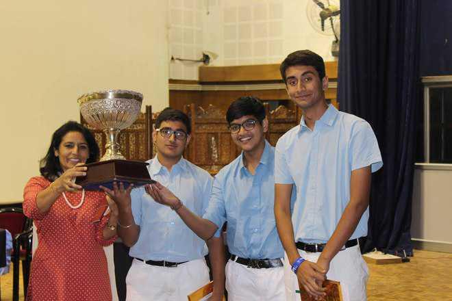 RIMC wins Hugh Catchpole English debate contest