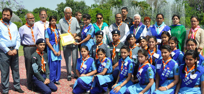 277 scouts guides awarded rajya puraskar rh tribuneindia com India Bharat Scouts And Guides Bharat Scouts And Guides Uniform