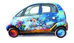 Get your car a coat of art