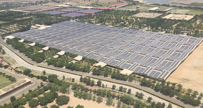 World's biggest rooftop solar plant inaugurated at Beas