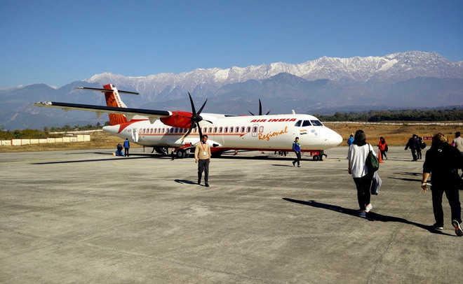 Gaggal airport gets fourth flight to Delhi