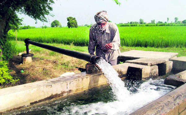 Canal water for drinking, toxic groundwater for irrigation!