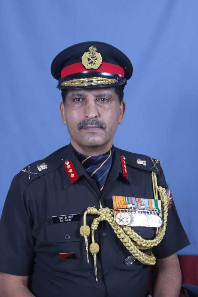 Lt Gen Saini is IMA Commandant