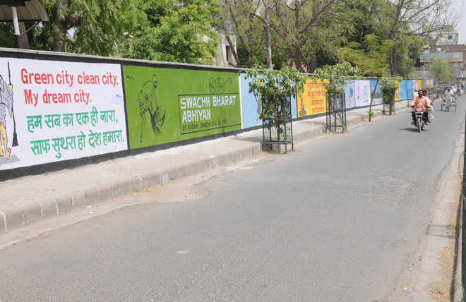 Swachh Bharat Animated Walls Inspire Residents To Take Up Broom In